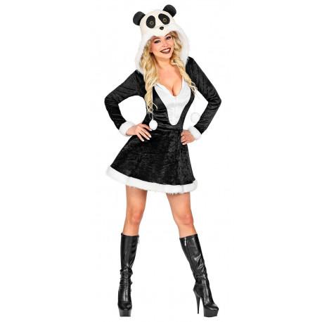 Disfraz de Oso Panda de Peluche para Mujer