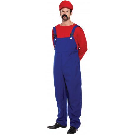 Disfraz de Super Mario para Hombre
