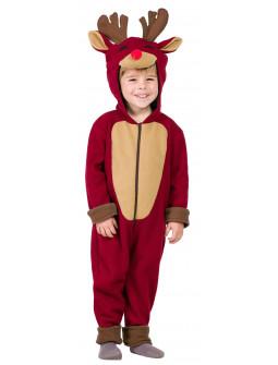 Disfraz de Reno Rudolph Navideño Infantil