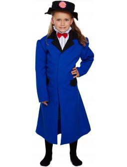 Disfraz de Mary Poppins Azul Infantil