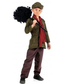 Disfraz de Deshollinador Bert para Niño