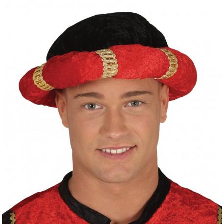 Turbante Rojo de Paje de los Reyes Magos