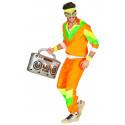 Disfraz Chándal Años 80 Naranja para Adulto