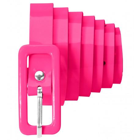 Cinturón Rosa Neón Fino Estilo Años 80