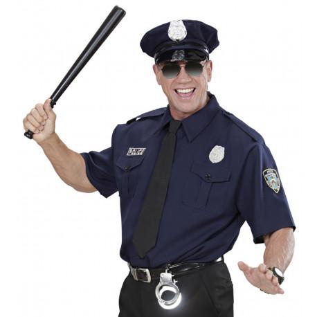 Set de policia - camisa, corbata, sombrero