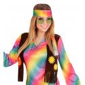 Gafas Hippies Verdes Estilo Años 70