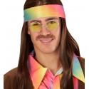 Gafas Hippies Amarillas Estilo Años 70