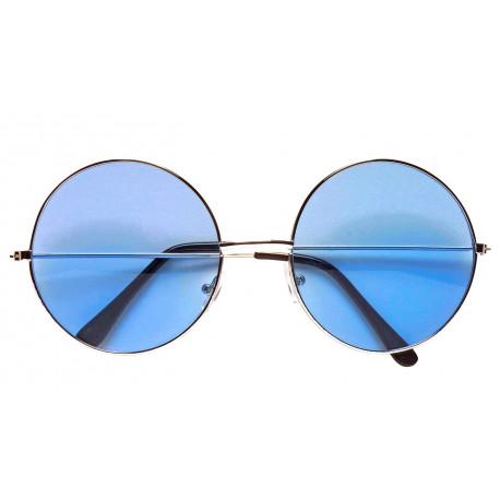 Gafas Hippies Azules Estilo Años 70