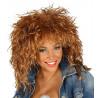 Peluca de Tina Turner Rubia Estilo Años 80