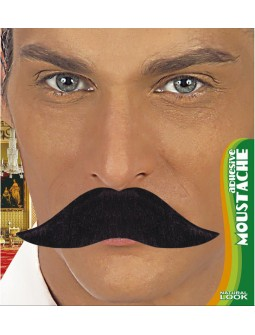 Bigote Negro - Natural Look -