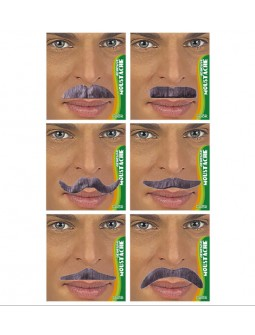 Bigotes canas variados - Natural Look -