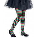 Pantys con Rayas Multicolor Infantiles