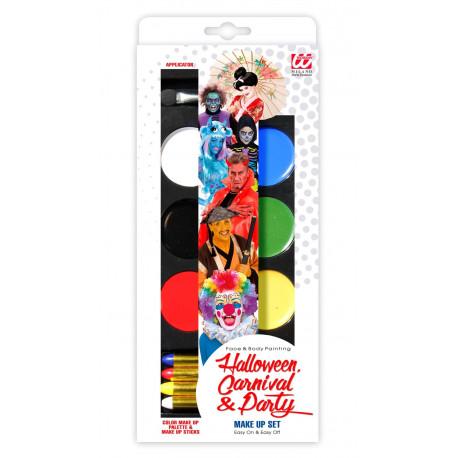 kit Maquillaje con 6 Colores y 4 Lápices