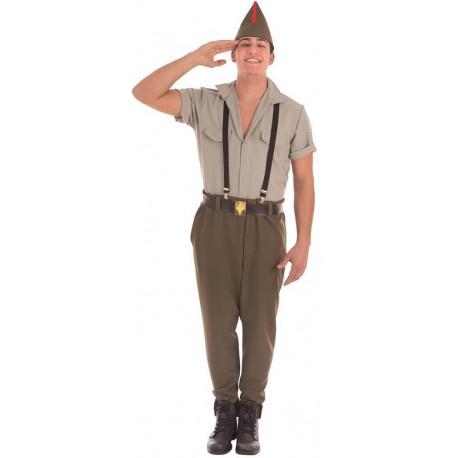Disfraz de Legionario Premium para Hombre