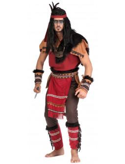Disfraz de Guerrero Indio Premium para Hombre