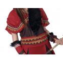 Disfraz de Guerrera India Premium para Mujer