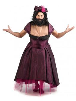 Disfraz de Mujer Barbuda Gran Showman para Hombre