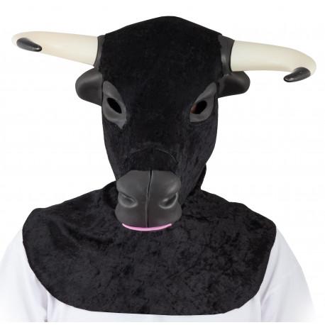 Máscara de Toro Bravo con Cuernos
