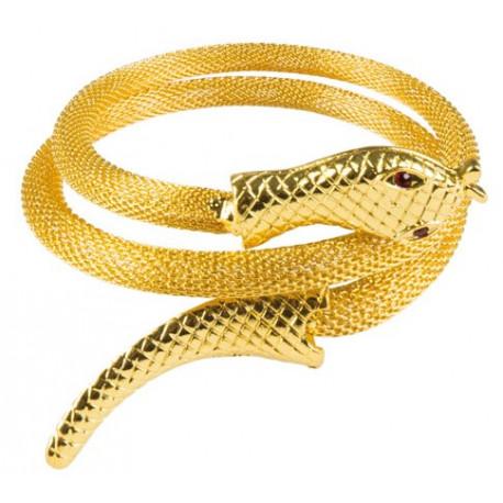 Brazalete Egipcio con Forma de Serpiente