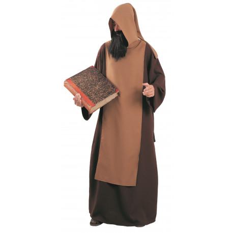 Disfraz de Monje Cisterciense para Hombre