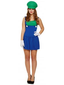 Disfraz de Luigi para Adulta
