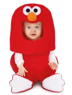 Disfraz de Elmo Divertido Barrio Sésamo para Bebé
