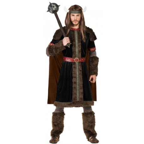 Disfraz de Guerrero Vikingo Negro para Hombre
