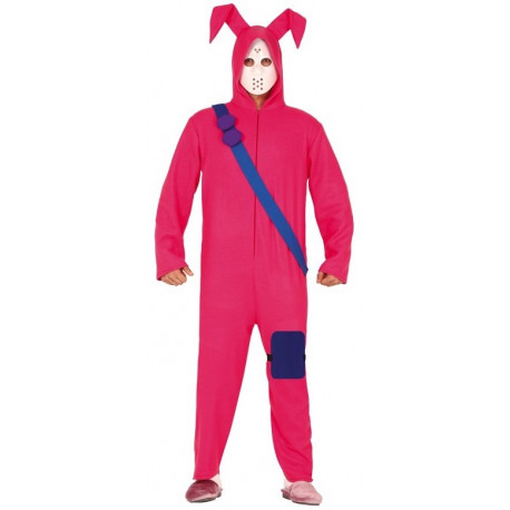 Disfraz de Conejo Rosa Fortnite para Adulto