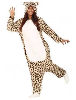 Disfraz de Leopardo Pijama para Mujer