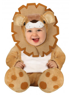 Disfraz de León de Peluche con Melena para Bebé