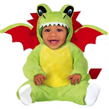 Disfraz de Dragón de Peluche con Alas para Bebé