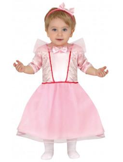 Disfraz de Princesa Rosa para Bebé
