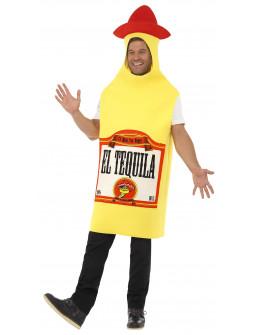 Disfraz de Botella de Tequila Mexicano para Adulto