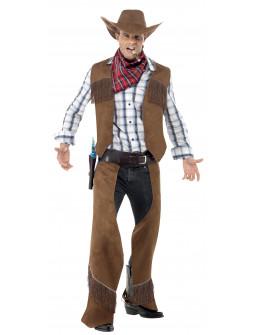 Disfraz de Vaquero con Chaleco para Hombre