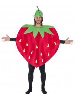 Disfraz de Fresa Roja para Adulto