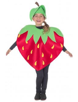 Disfraz de Fresa Roja Infantil