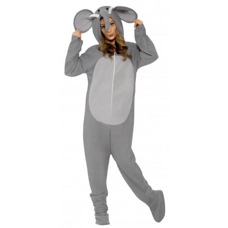 Disfraz de Elefante Gris para Adulto