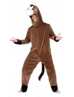 Disfraz de Caballo Marrón para Adulto