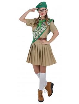 Disfraz de Boy Scout para Mujer