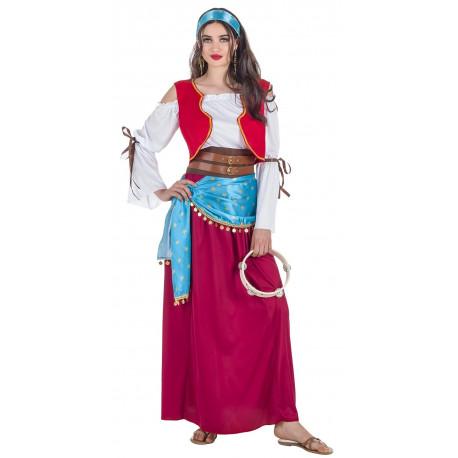 Disfraz de Bailarina Gitana para Mujer