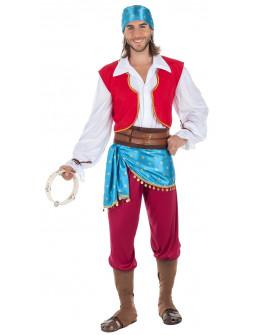 Disfraz de Gitano Zíngaro para Hombre
