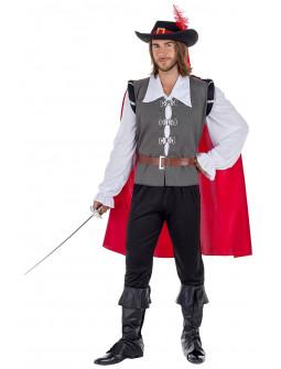 Disfraz de Mosquetero Espadachín para Hombre