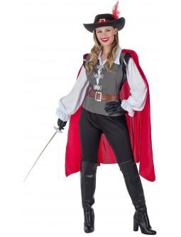 Disfraz de Mosquetera Espadachina para Mujer