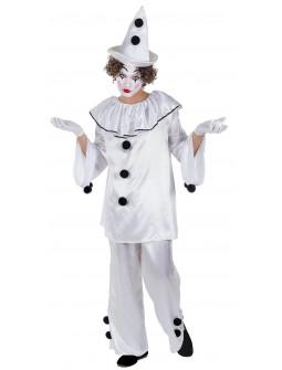 Disfraz de Payaso Pierrot para Hombre