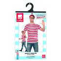 Kit de Disfraz Wally con Camiseta, Gafas y Gorro