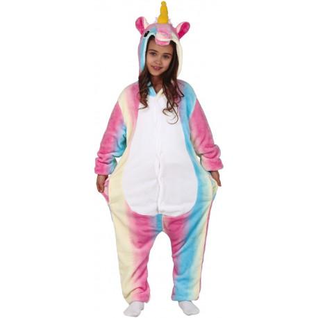 Disfraz de Unicornio Pijama Arcoíris Infantil