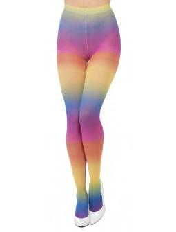 Pantys de Colores Arcoíris para Adulto
