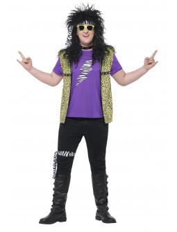 Disfraz de Estrella de Rock Años 80 para Hombre