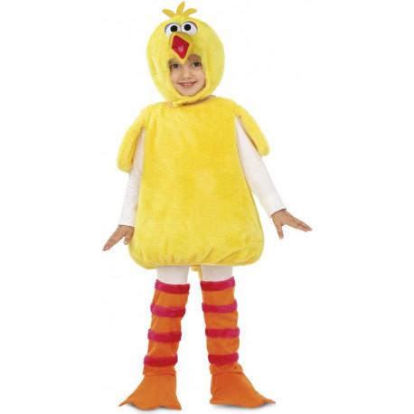 Disfraz de Gallina Caponata de Peluche Infantil