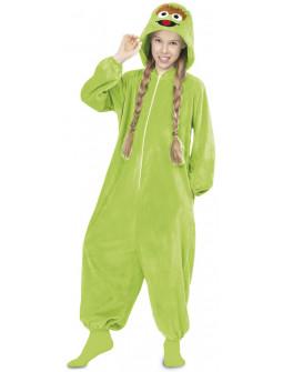 Disfraz de Oscar El Gruñón Pijama Infantil
